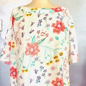 Pretty Open Sleeve Cotton Top